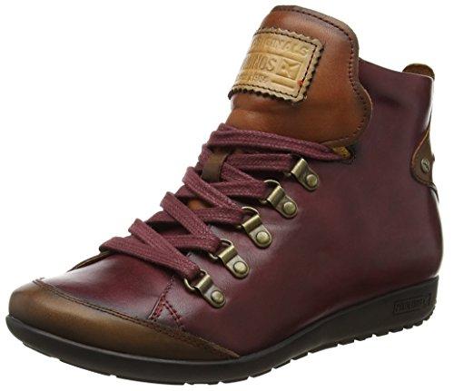 Stivaletto Pikolinos garnet i18 Rosso Donna A Pantofole W67 Garnet 7667c5 TTCRHq