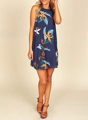 Floral Print Casual Short Dress