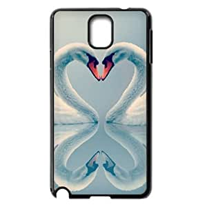 VNCASE Swan Phone Case For samsung galaxy note 3 N9000 [Pattern-1]