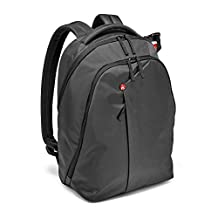 Manfrotto MB NX-BP-VGY Backpack for DSLR Camera, Laptop & Personal Gear (Grey)