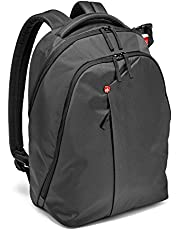 """Manfrotto MB NX-BP-VGY Backpack for DSLR Camera, Laptop & Personal Gear, Grey, 6.69"""" x 12.2"""" x 18.11"""""""