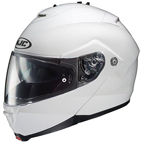 HJC IS-MAX II Modular Motorcycle Helmet (White, Large)