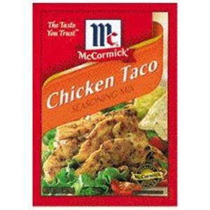 Mexican Seasoning Mix Chicken Taco - 12 Pack