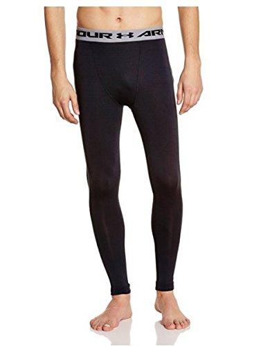 Men's Under Armour HeatGear Compression Leggings, Black, XL-R