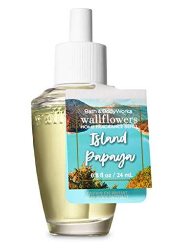 (Bath Body Works Wallflowers Fragrance Refill Bulb Island Papaya)