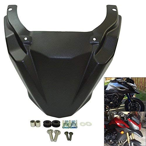 PACASK Motocycle Front Wheel Fender Beak Nose Cone Extension Cover Extender Cowl For Yamaha MT-09 MT09 Tracer FJ-09 2015 2016 ()