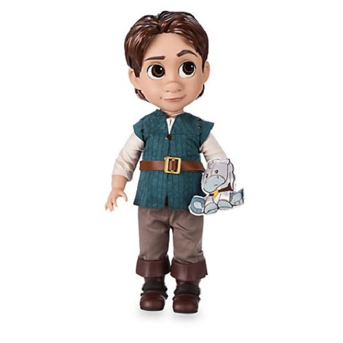 Disney Store Tangled Flynn Ride 38cm Animator Toddler Doll With Accessory