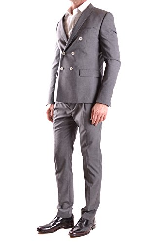 Daniele Alessandrini Homme MCBI086443O Gris Polyester Costume