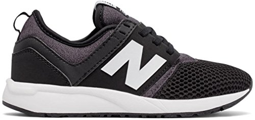 New Balance 247 Classic Shoe Kids Casual Black-white