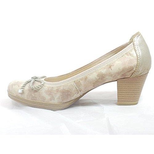 Marco Tozzi - Zapatos de vestir para mujer beige beige