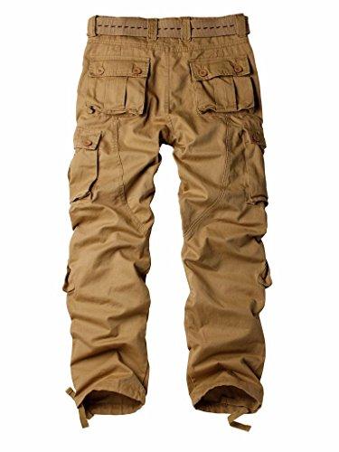 Must Way Homme Pantalon Jaune Cargo qqHdrR4a