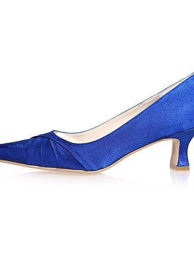 ShangYi blue 4in Violet amp; 3 Carré de Evénement 2in Chaussures Soirée Bleu Bout Noir Mariage 2 Champagne mariage Blanc Rose Ivoire Argent rqCrR1gx