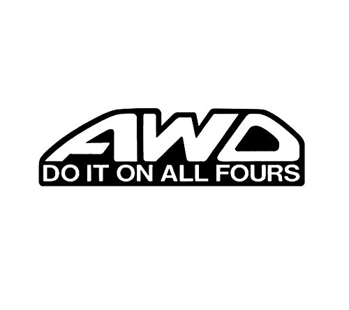 Awd Do It On All Fours Subaru Sti Impreza Wrx Window Sticker Vinyl Decal