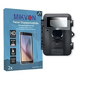 2x Mikvon Película blindada protección de pantalla Dörr SnapShot MINI Protector de Pantalla - Embalaje y accesorios