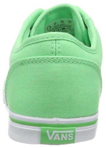 ATWOOD CANVAS Green lona W mujer Vert White Zapatillas Vans LOW Spring de SPRING Verde q56RttCwy