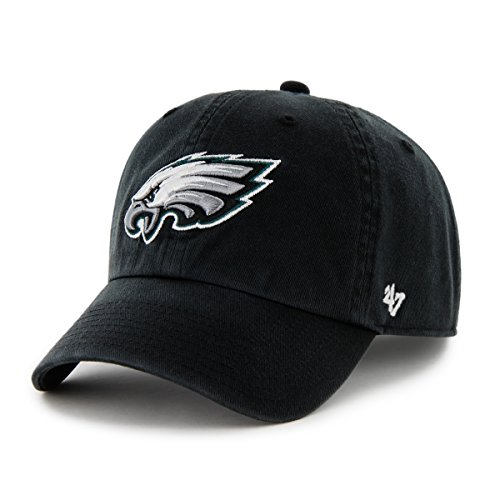NFL Philadelphia Eagles Men's Clean Up Cap, Black, One Size