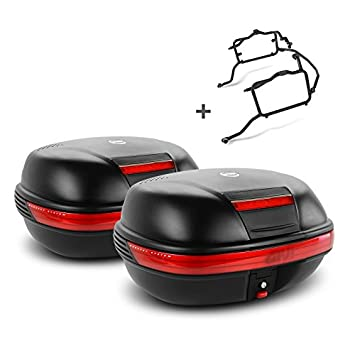 Juego de maletas laterales Set Suzuki V-Strom 650 11-16 Givi Monokey E460N negro: Amazon.es: Coche y moto