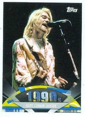 Kurt Cobain trading card (Nirvana) 2011 Topps American Pie ()