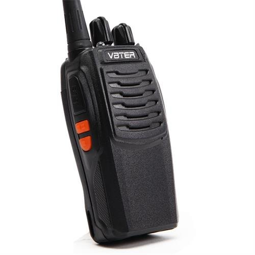 VBTER VBT-V3 Walkie Talkie UHF 400-470 MHz FM Transceiver CTCSS DCS High Illumination Flashlight Portable Two Way Radio(Pack of 4)