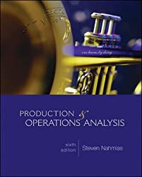 Production and Operations Analysis (McGraw-Hill/Irwin Series Operations and Decision Sciences) by Steven Nahmias (2008-03-03)