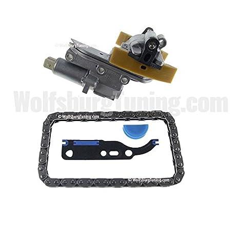 VW Audi 1.8T (modelos 1.8 T Turbo Timing Cam cadena Tensor Ajustador w/cadena MK4 00 - 06: Amazon.es: Coche y moto