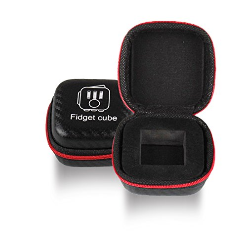 Fidget Cube Box – Store & Carry Your Fidget Cube Safely – Equally Ideal as Organizer or Case for Small Pieces of Jewellery, Earphones & Coins – Perfect Gift! (Fidget Cube Not Included)