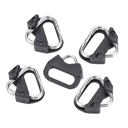 - Camera Split Ring - Delaman 5pcs Replacement Alloy Triangle Rings Hook Camera Shoulder Strap