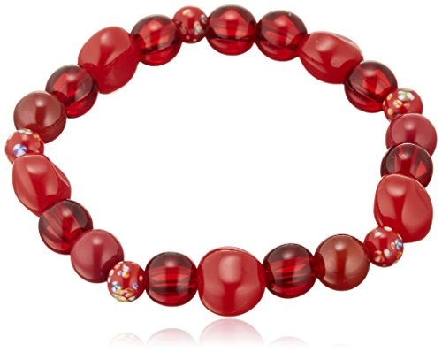 Comolife Magnetism accessory , Magnetic Bracelet Red , Color : Red , Size : about diameter 6.82 (in) , Made in (Sakura Gemstone)