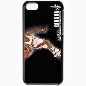 XiFu*MeiPersonalized iphone 5/5s Cell phone Case/Cover Skin Cleveland cavaliers nba cleveland cavaliers no daniel gibson desktop BlackXiFu*Mei