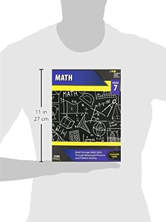 Steck-Vaughn Core Skills Mathematics: Workbook Grade 7: STECK ...