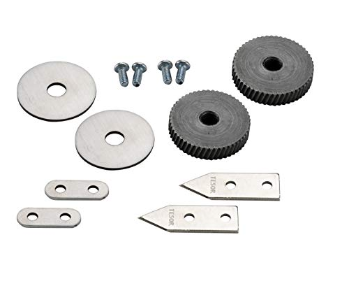 (Replacement Parts - Knife/Blade & Gear Compatible With Edlund #1 Commercial Can Opener - Set of)