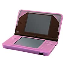 HDE Pink Silicone Rubber Skin Protective Shell for Nintendo DSi XL