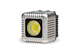 LUME CUBE Bluetooth External Flash & Video Light for Casual Capture Devices, Silver