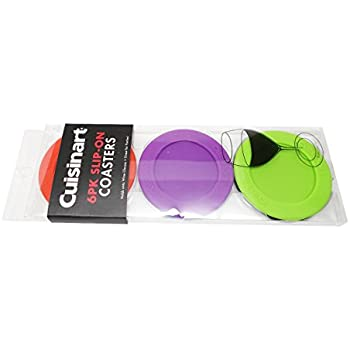 Cuisinart Slip-On Coasters, 1-Pack (6 Pieces)