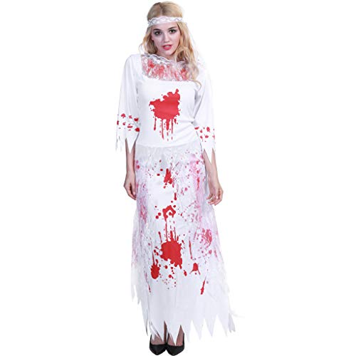 Zombie Bride Halloween Outfits (EraSpooky Halloween Zombie Bride Bloody Women)