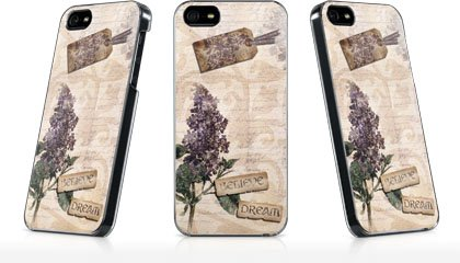 Inspirational - French Romantic Shabby Chic - iPhone 5 & 5s - LeNu Case