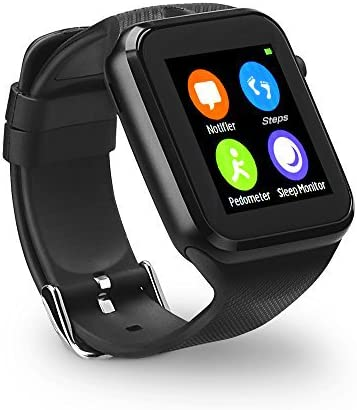 Amazon.com: Yuntab gd19s Bluetooth SmartWatch visualización ...