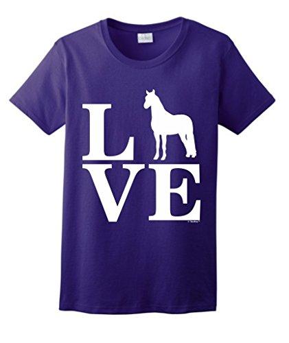 Barnyard Animal Horses Ladies T Shirt