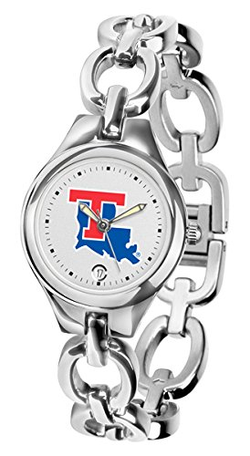 Tech Bulldogs Sport Louisiana Watch (New Linkswalker Mens Louisiana Tech Bulldogs Eclipse Watch)