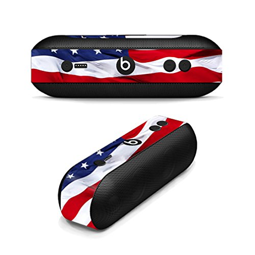 MightySkins Skin Compatible with Beats by Dr. Dre Beats Pill Plus wrap Cover Sticker Skins American Flag