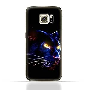 Samsung Galaxy S6 TPU Silicone Case with Panther Eye Design
