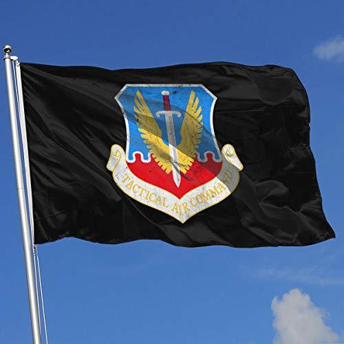 Wanghaojiemimi Tactical Air Command Emblem 3x5 Foot Home Garden Decor Flag