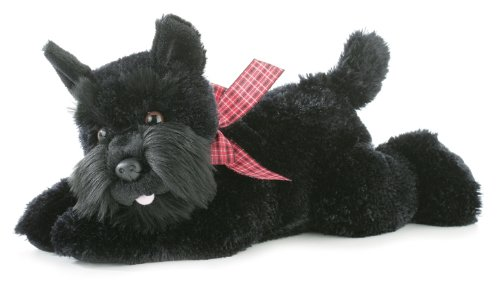 - Aurora World Flopsie Mr. Nick Plush Scotty Dog, 12