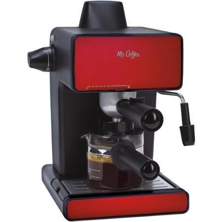 Mr. Coffee Espresso Maker, BVMC-ECM260R, Red