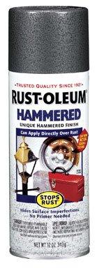 Gray Hammered Enamel Aerosol Spray Paint [Set of 6]