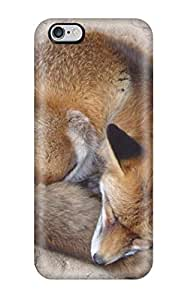 For AmandaMichaelFazio Iphone Protective Case, High Quality For Case Cover For Apple Iphone 6 Plus 5.5 Inch Fox Without Fire Skin