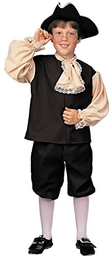 Rubie's Deluxe Child's Colonial Boy Costume, Large (Colonial Days Costumes Boys)