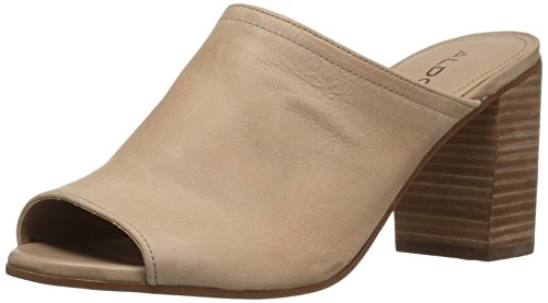 Aldo Womens Dorthy Heeled Sandal, Cognac