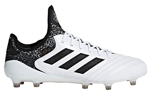 adidas Herren Predator 18.1 FG Fußballschuh Weiß, Schwarz, Gold