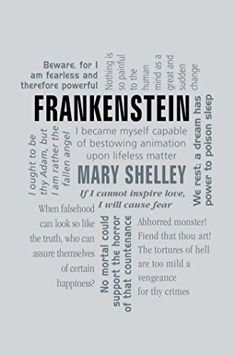 Frankenstein Word Cloud Classics By Shelley Mary